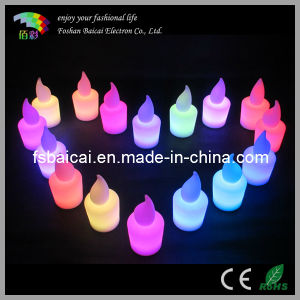 LED Grave Candle Light with Battery pictures & photos