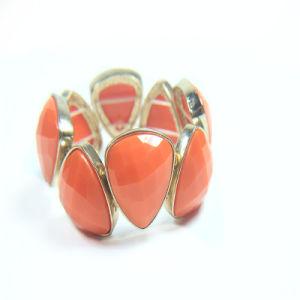 New Item Pink Resin Acrylic Fashion Jewellery Stretch Bracelets