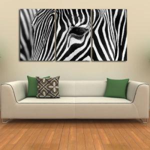 china zebra cheap animal canvas painting canvas print wall art