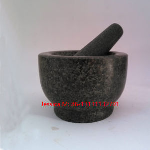 Jxh-18 Granite Mortar and Pestle pictures & photos