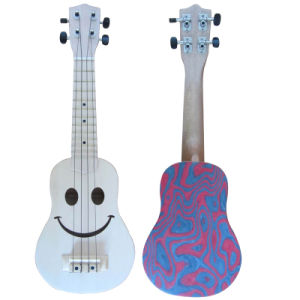 "21"" 4-Strings Children Ukulele Guitar (CSBL-U305) pictures & photos"