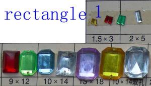 Acrylic Rectangle Beads