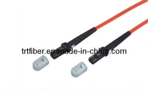 MTRJ Om2 Fiber Optic Patch Cord Optical Fiber Jumper pictures & photos
