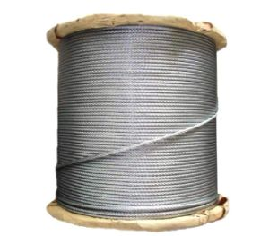 Tongguan Brand Galvanized Steel Wire Strand 1*7 pictures & photos