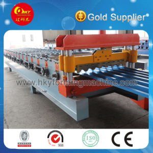 Export Quality Standard Metal Roof Sheet Roll Forming Machinery pictures & photos