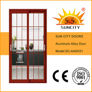 White Powder Coated Interior Aluminum Alloy Doors (SC-AAD026) pictures & photos