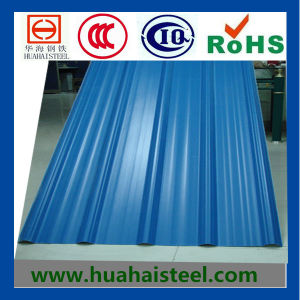 Corrugated Profiled Color Coated Galvanized Steel Sheet pictures & photos