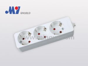 3ways Socket, with Cable (GN1613)