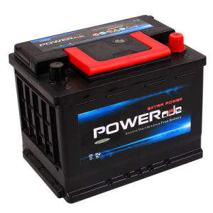 DIN Mf 56212-12V62ah Maintenance Free Car Battery with RoHS/CE/Soncap