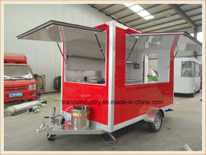 China Sell Coffee Street Fast Food Machines Drink Vending Cart pictures & photos