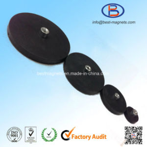 Direct Factory Original Supplier of Rubber Coating Permanent Magnet Pot/Gripper pictures & photos