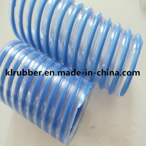 PVC Helix Reinforced Suction Hose for Conveying pictures & photos