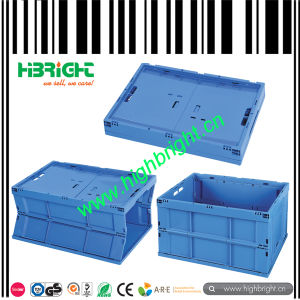 Colorful Folding Plastic Logistic Crate pictures & photos