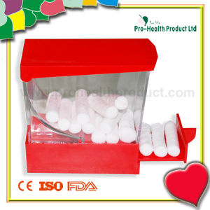 Medical Absorbent Dental Surgical Cotton Roll with Dispenser pictures & photos