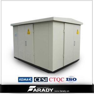 33kv 1250kVA Kiosk Type Prefabricated Compact Substation Transformer pictures & photos