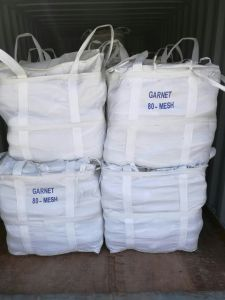 High Performance Sandblasting Material Garnet Sand 10/20#, 20/40#, 30/60# pictures & photos