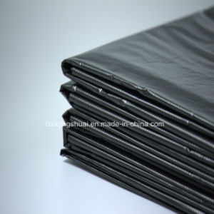 HDPE Black Rubbish Bag with Good Quality pictures & photos