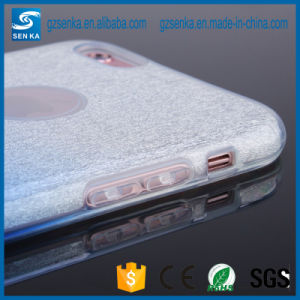 Luxury Glitter Powder Gradient Color TPU Case for Samsung Galaxy S6 Edge Cover pictures & photos