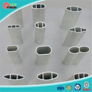 Oval Shape Alu Tube, High Quality Seamless Aluminum Tube Pipe pictures & photos