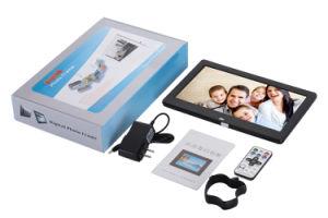Digital Photo Frame 10 Inch HD TFT-LCD Porta Retrato Electronic Alarm Clock MP3/4 Video Movie Player Elektronischer Bilderrahmen pictures & photos