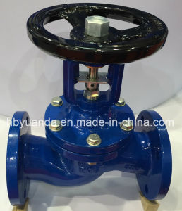 DIN pn16 cast iron bellow sealed globe valves manufacturer China pictures & photos