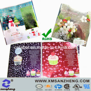 Pet Clear Glossy Permanent Weather Resistant Full Color Gift Packaging Stickers pictures & photos