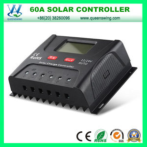 12/24V Auto Solar Regulator 60A Solar Charge Controller (QWP-SR-HP2460A) pictures & photos