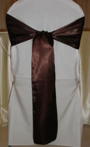 100% Polyester Satin Sash for Chair Covers pictures & photos