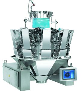 Stand-up Frame 10head Weigher with 1.3L Hoppers pictures & photos