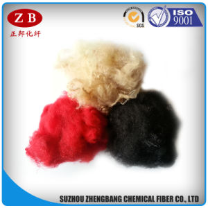 1.5D*51mm Colored Recycling PSF Polyester Staple Fiber Buy From Pet Plant