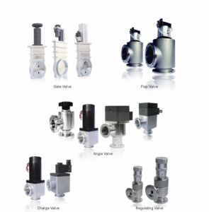 Vacuum Angle Valves with Cfflange Stainless pictures & photos