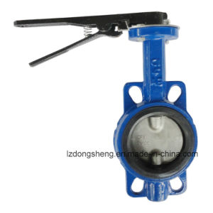 D71X Wafer Soft Seat Butterfly Valve pictures & photos