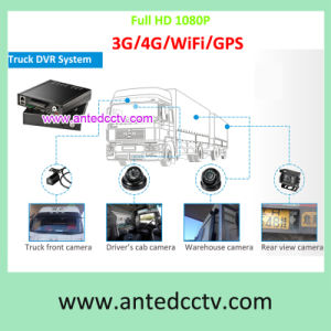 HD 1080P 4CH 8CH Vehicle DVR Systems with Camera and GPS Tracking WiFi 3G/4G Live Monitoring pictures & photos