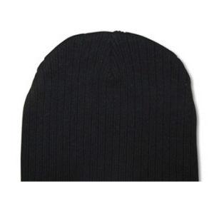Black Cable Knit Beanie Hat (JRK211) pictures & photos