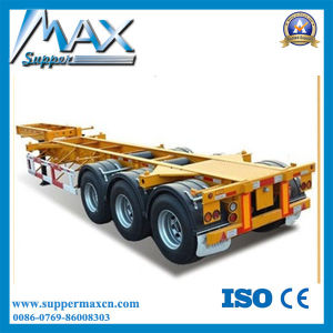 New 40FT Container Trailer Price 40FT Skeleton Trailer pictures & photos