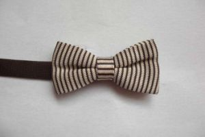 Mens Polyester Knitted Bow Tie