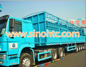 4 axles container & bulk cargo trailer pictures & photos