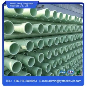 Fibreglass Reinforced Plastic GRP FRP Pipe for Crude Transferring pictures & photos