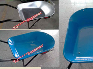 Brazil Model Wheel Barrow with Powder Coated or Galvanized Tray pictures & photos