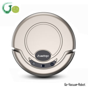 Household Cordless Robot Vacuum Cleaner Quiet Intelligent Vacuum Hoover Cleaning Device for Home, Hotel, Carpet pictures & photos