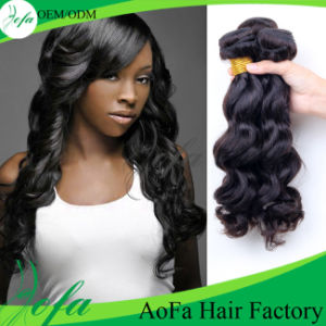 Double Wefts Unprocessed Body Wave Human Weaving Hair pictures & photos