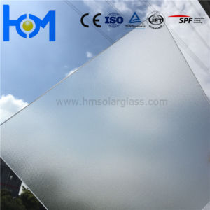 3.2mm Tempered Flat Arc Super White Ultra Clear Solar Panel Glass pictures & photos