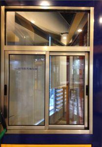 Aluminium Sliding Window for Simple Decoration pictures & photos