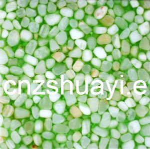 Green Arcrylic Cobble Stone Resin Panel pictures & photos