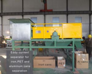 Eddy Current Separator for Pet Aluminum and Iron Cans Sorting pictures & photos