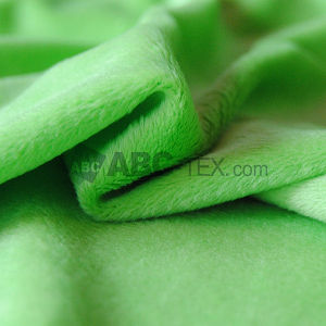 Professional Fabrics Supplier Super Soft Micro Velboa Minky Fabric for Baby Diaper Bedding Cloth