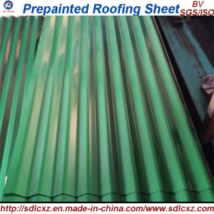 Dx51d Galvanized Corrugated Steel Sheet Plate for Construction and Panel pictures & photos