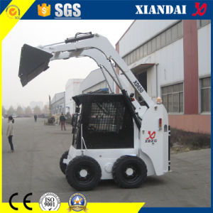 650kg Skid Steer Loader with 4 in 1 Bucket pictures & photos