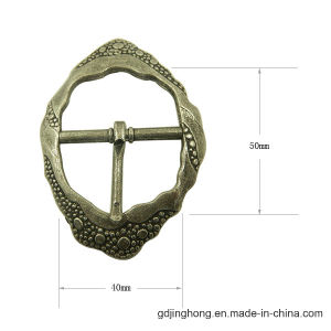 Metal Belt Buckle Customized Zinc Alloy Pin Buckle pictures & photos