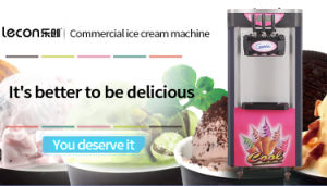 Soft Serve Ice Cream Machine Freezer Ice Cream Maker pictures & photos